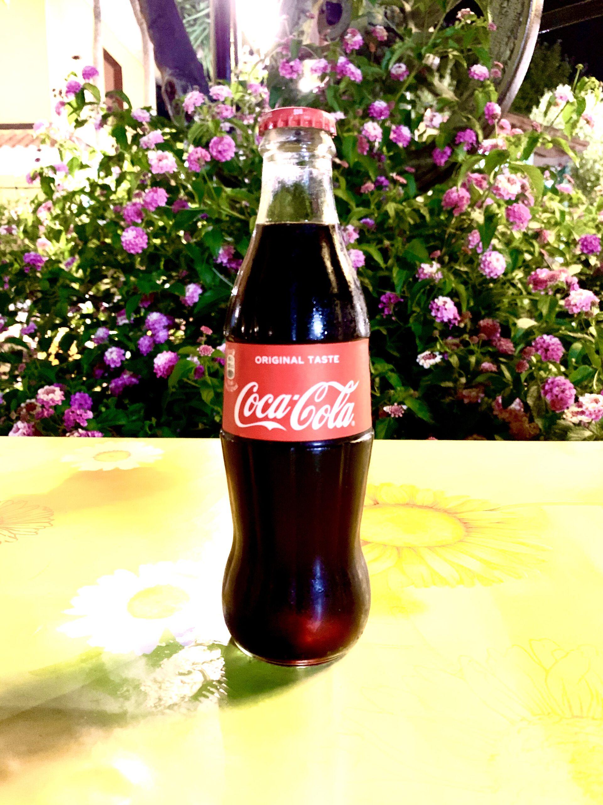 Coca-cola in bottiglia da 33 cl
