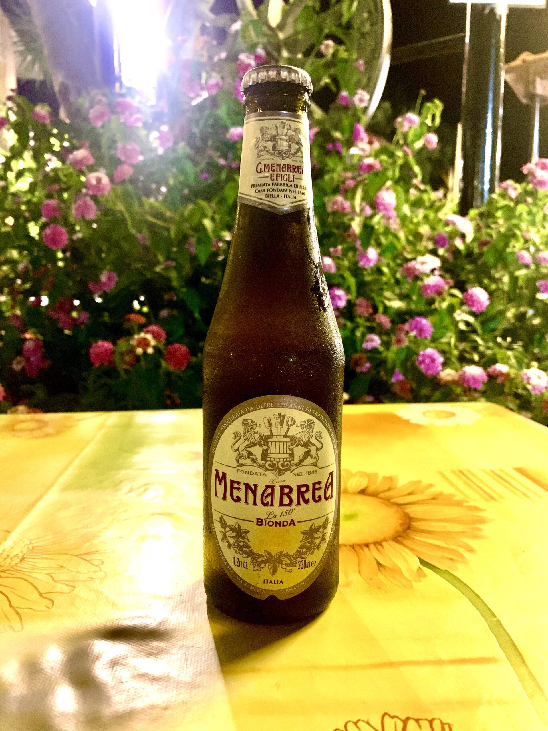 Menabrea Bionda - Premium Lager <img width=