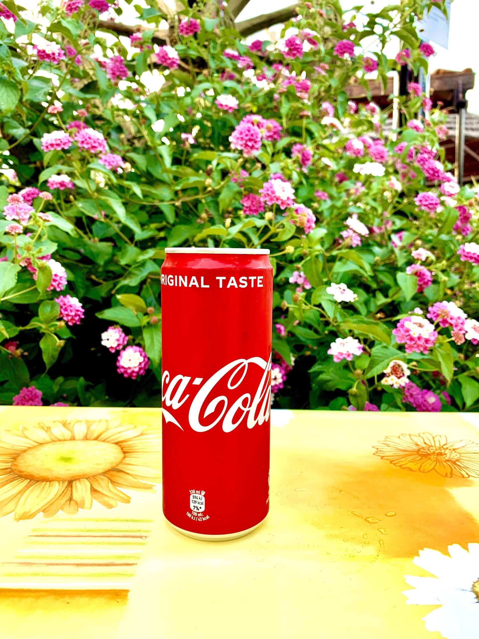 Coca-cola in lattina